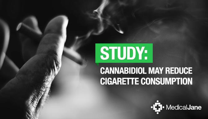 Study Cannabidiol CBD May Reduce Cigarette Consumption Michael King